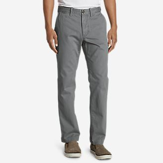 Men's Legend Wash Chino Pants - Classic Fit Tall in Gray