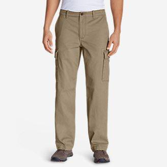 Men's Legend Wash Cargo Pants - Classic Fit in Brown