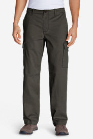 Men's Legend Wash Cargo Pants - Classic Fit in Green