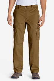 Men's Legend Wash Cargo Pants - Classic Fit in Brown