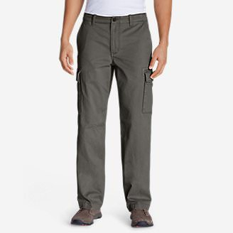 Men's Legend Wash Cargo Pants - Classic Fit in Gray