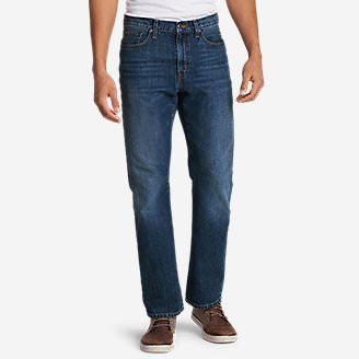 Men's Authentic Jeans - Straight Fit in Blue