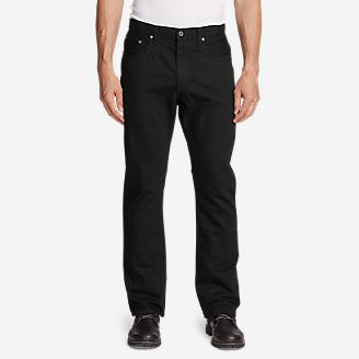 Men's Authentic Jeans - Straight Fit in Black