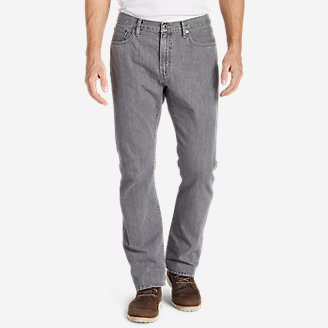 Men's Authentic Jeans - Straight Fit in Gray