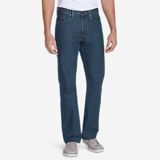 Straight Fit Essential Jeans in Blue