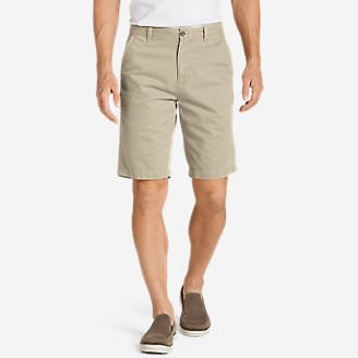 Men's Legend Wash 11' Chino Shorts - Solid in Beige