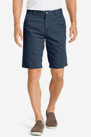 Men's Legend Wash 11' Chino Shorts - Solid in Blue