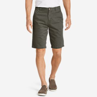Men's Legend Wash 11' Chino Shorts - Solid in Green