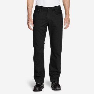 Men's Flex Jeans - Straight Fit in Black