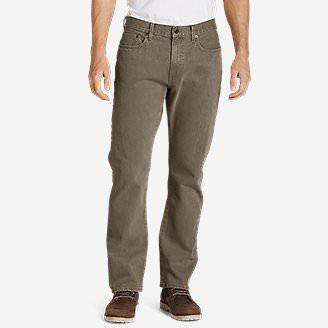 Men's Flex Jeans - Straight Fit in Green