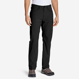 Men's Horizon Guide Five-Pocket Jeans - Straight Fit in Black