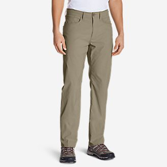 Men's Horizon Guide Five-Pocket Jeans - Straight Fit in Beige