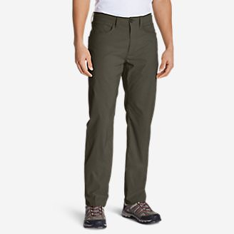 Men's Horizon Guide Five-Pocket Jeans - Straight Fit in Green