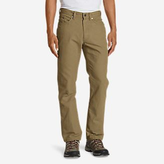 Men's Mountain Jeans - Straight Fit in Brown