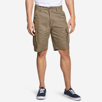 Men's Expedition Cargo Shorts - 11' in Brown