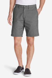 Men's Baja II 9' Chino Shorts - Print in Gray