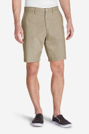 Men's Baja II 9' Chino Shorts - Print in Beige