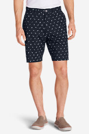 Men's Baja II 9' Chino Shorts - Print in Blue