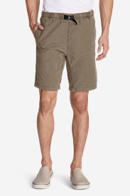 Men's Kebili 9' Belted Shorts in Beige