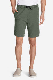 Men's Kebili 9' Belted Shorts in Green