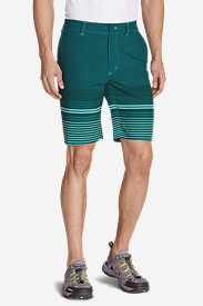 Men's Amphib 10' Chino Shorts - Print in Blue