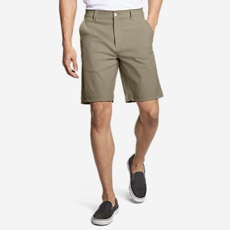 Men's Horizon Guide 10' Chino Shorts in Beige