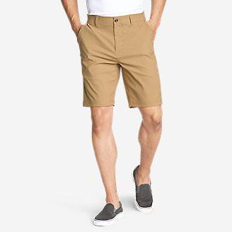 Men's Horizon Guide 10' Chino Shorts in Brown