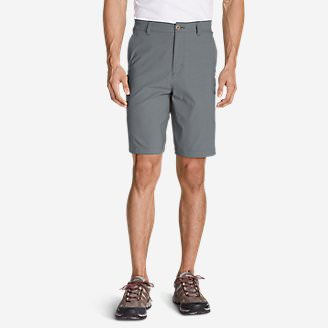 Men's Horizon Guide 10' Chino Shorts in Gray