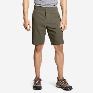 Men's Horizon Guide 10' Chino Shorts in Green