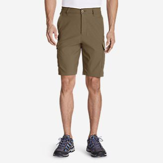 Men's Horizon Guide 10' Cargo Shorts in Brown