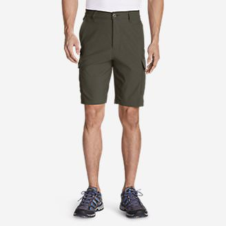 Men's Horizon Guide 10' Cargo Shorts in Green