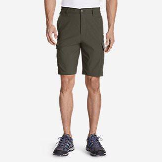 Men's Horizon Guide 10' Cargo Shorts in Green
