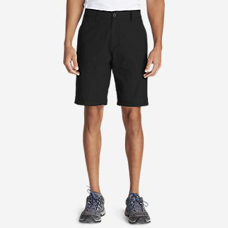 Men's Lined Guide Commando Shorts in Black