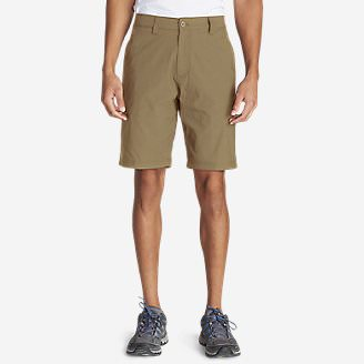 Men's Lined Guide Commando Shorts in Brown