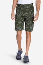 Men's Versatrex 11' Cargo Shorts - Print in Green