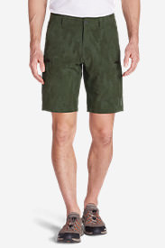 Men's Amphib Cargo Shorts - Pattern in Green