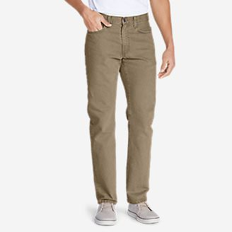 Men's Flex Jeans - Slim Fit in Beige