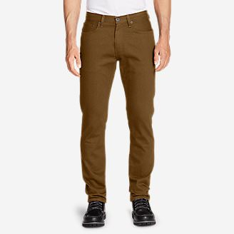 Men's Flex Jeans - Slim Fit in Brown