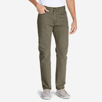 Men's Flex Jeans - Slim Fit in Green