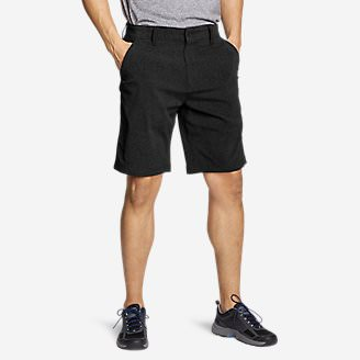 Men's Horizon Guide Chino Shorts - Pattern in Black