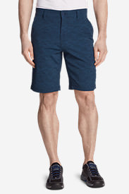 Men's Horizon Guide Chino Shorts - Pattern in Blue