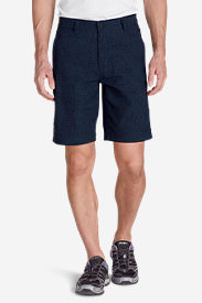 Men's Horizon Guide Chino Shorts - Pattern in Blue