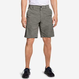 Men's Horizon Guide Chino Shorts - Pattern in Gray