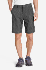 Men's Horizon Guide Chino Shorts - Pattern in Gray