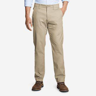 Men's Flex Sport Wrinkle-Resistant Chino Pants in Beige