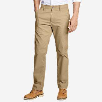 Men's Flex Sport Wrinkle-Resistant Chino Pants in Brown