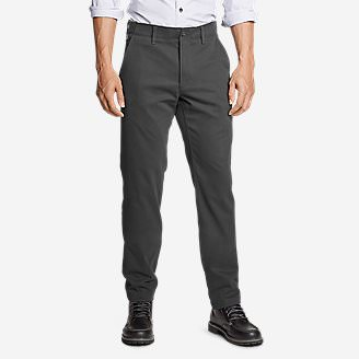 Men's Flex Sport Wrinkle-Resistant Chino Pants in Gray