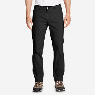 Men's Horizon Guide Chino Pants - Slim Fit in Black