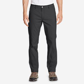 Men's Horizon Guide Chino Pants - Slim Fit in Gray