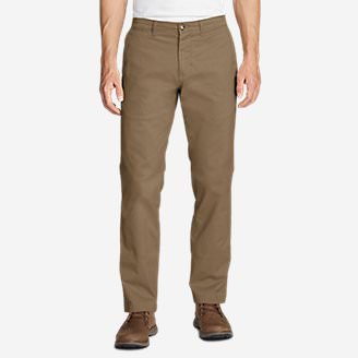 Men's Legend Wash Flex Chino Pants - Slim in Brown